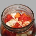 Salata de iarna cu gogosari in otet
