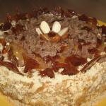reteta tort cu migdale si ciocolata